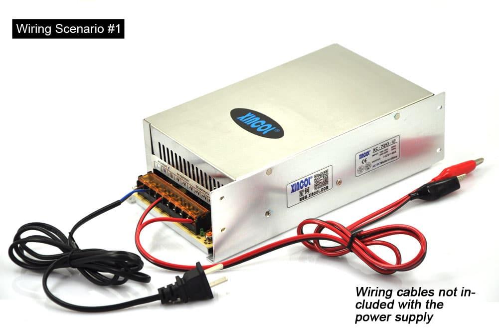 XINCOL SMPS AC110V 220V to DC12V 60A 720W Transformer LED Strip ...