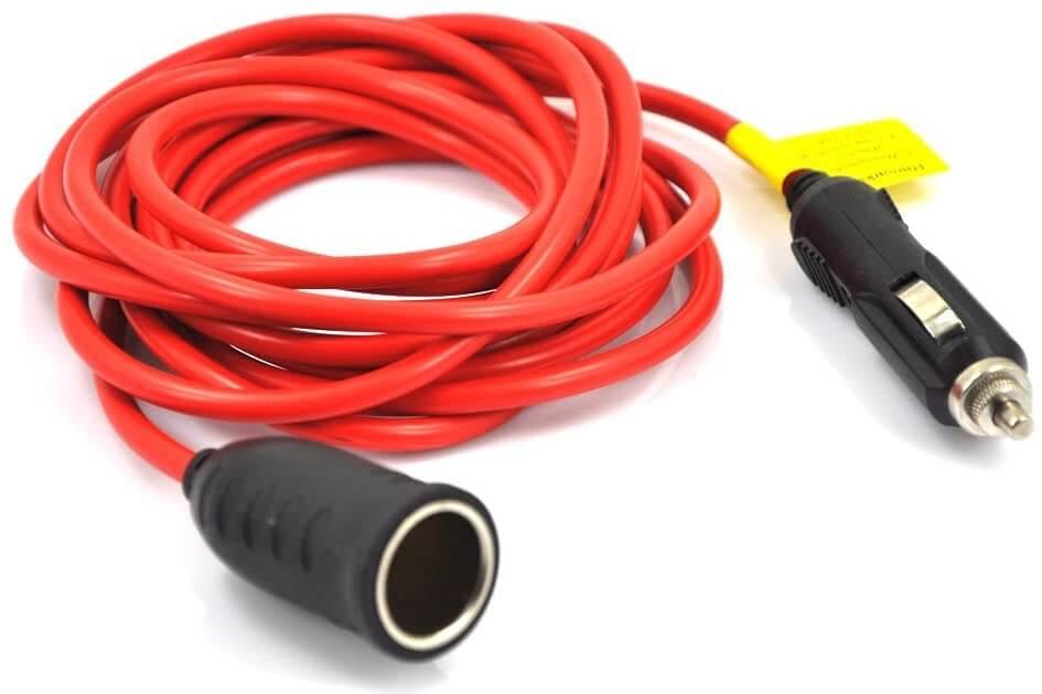 12v-car-cigarette-lighter-extension-cable