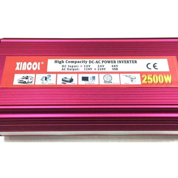 Xincol-high-capacity-power-inverter-2500w